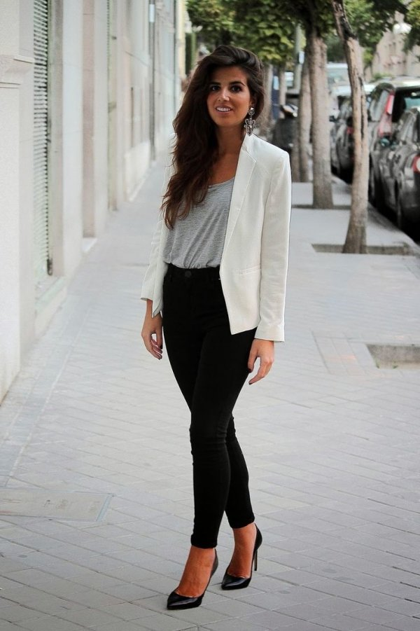 Neutral Hues 7 Street Style Business Chic Looks To Recreate This