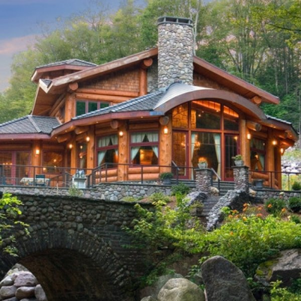 Log Cabin 59 Gorgeous Dream Houses For Motivation And