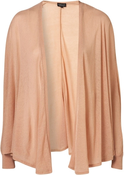 Topshop Nude Sheer Cape Cardigan - 8 Sheer and Stylish Garments…