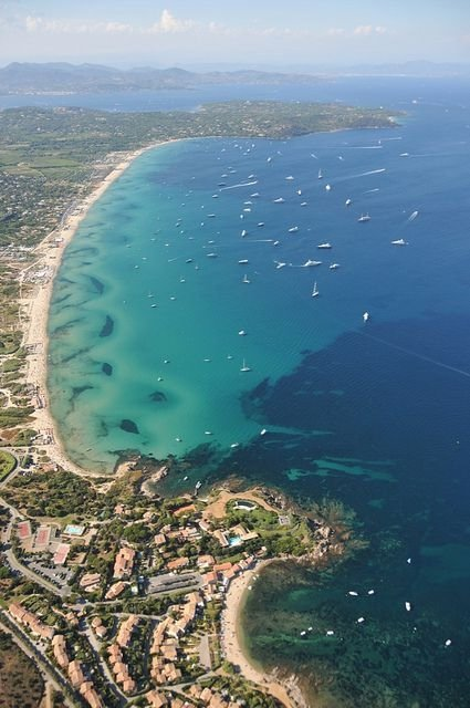 Pampelonne Beach, Saint-Tropez, France