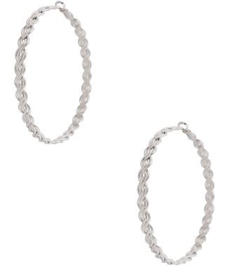 Forever21 Braided Hoop Earrings