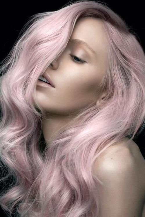 Image result for dusty pastels hair