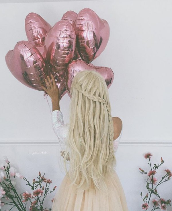 hair, pink, hairstyle, flower,