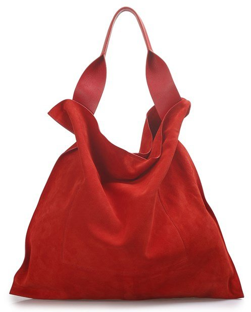 Slouchy Red Bag