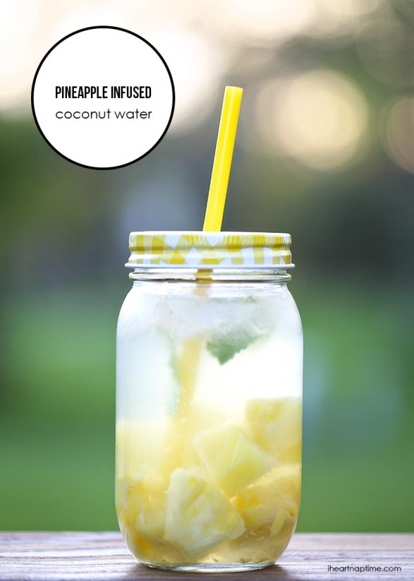 Pineapple Infused Coconut Water
