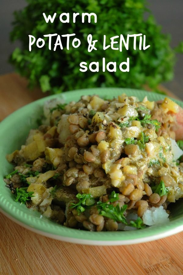 39. Warm Potato and Lentil Salad - How to Make 42 Warm Salads That…