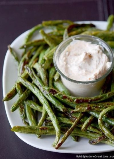 Roasted Green Bean Fries