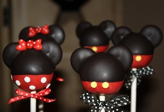 How To Make Mickey Mouse Clubhouse Cake Pops
