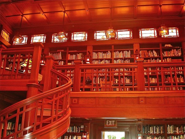 Skywalker Ranch Library, California, USA