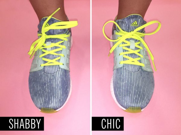 Your Shoelaces Are a Mess