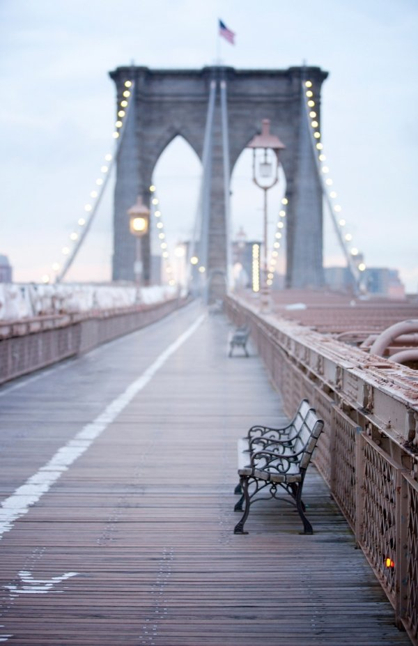 Brooklyn Bridge, bridge, walkway, flooring, boardwalk,