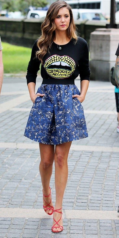 Steal Nina Dobrev's Stunning Style ... → ? Fashion