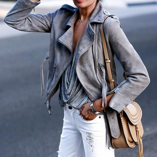 clothing, leather, jacket, outerwear, spring,