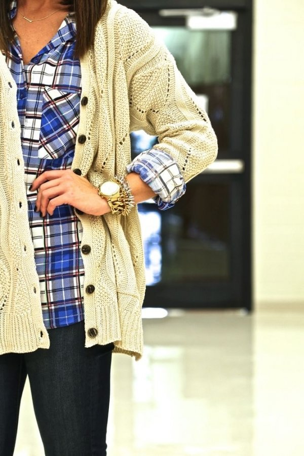 Layer It under Cardigans