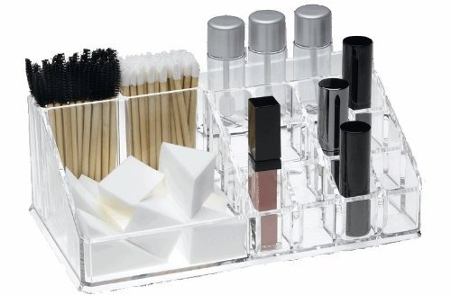 Large Acrylic Cosmetic and Brush Organizer