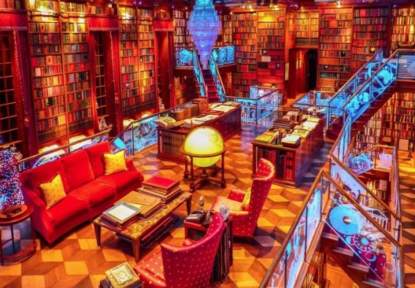 Jay Walker's Private Library, USA