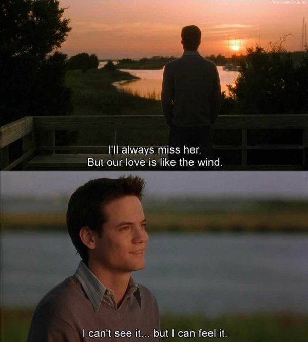 Romantic Movie Quotes A Walk To Remember  33 Of The Most Famous Romantic Movie Quotes…