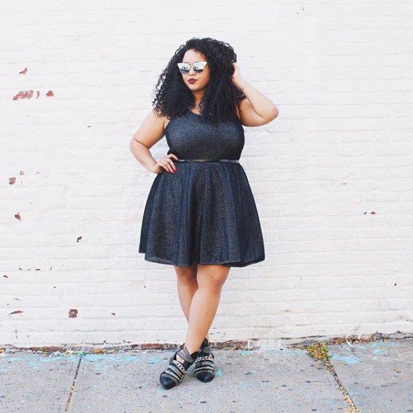 clothing, black, little black dress, dress, footwear,