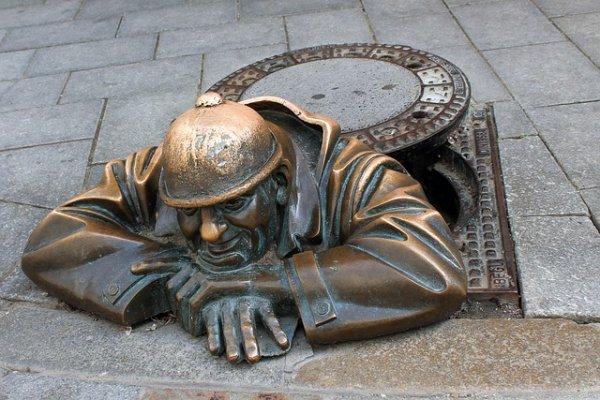 Cumil, sculpture, statue, monument, carving,