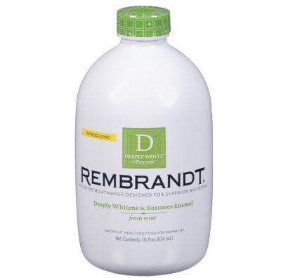 Rembrandt Deeply White+Peroxide Whitening Mouthwash