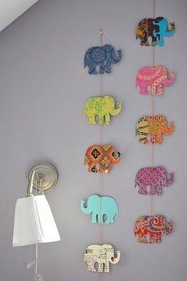 13 Diy Elephant Art 34 Diy Dorm Room Decor Projects To