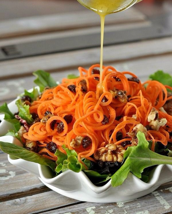 Raw Beet, Butternut And Pecan Slaw Recipe — Dishmaps