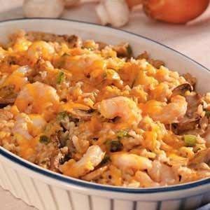 Shrimp Rice Casserole