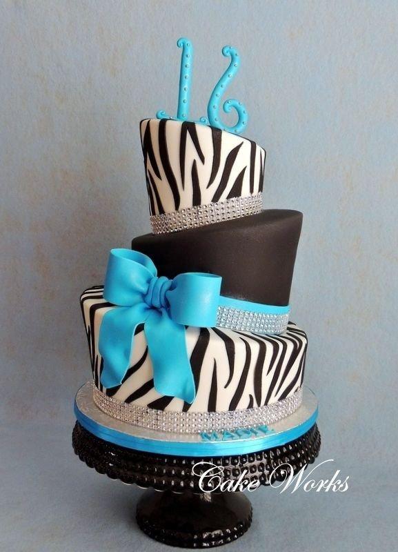 16 girl birthday cakes