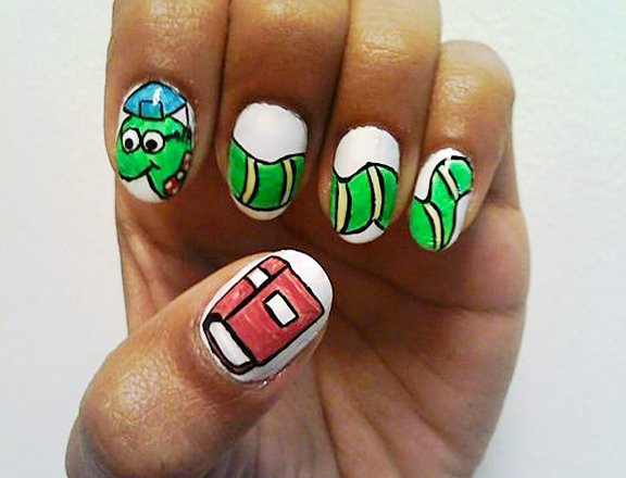 nail,finger,green,hand,manicure,