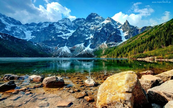 Morskie Oko in Tatra National Park, Poland