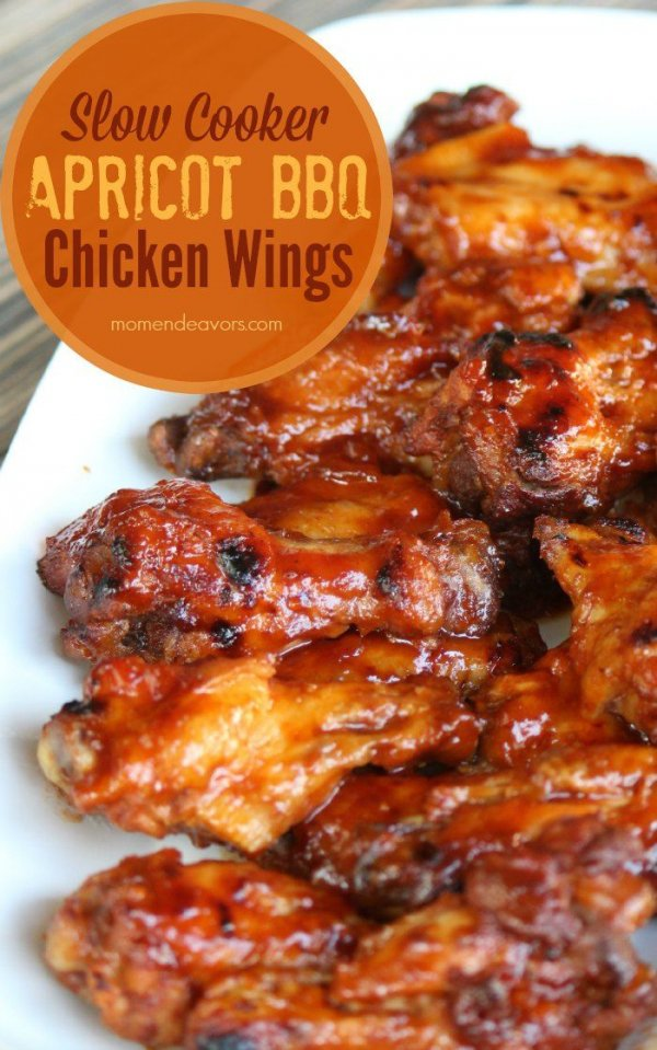 Apricot BBQ Wings
