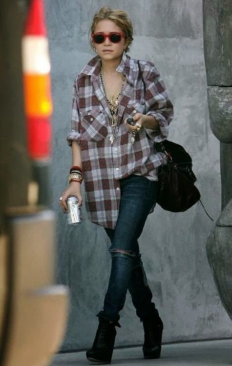 Oversized Flannel 7 Street Style Grunge Outfits To Recreate