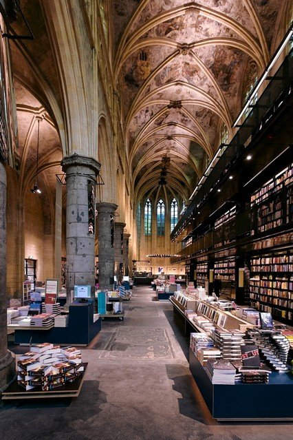 Lose Yourself for Hours Browsing the Shelves in the Selexyz Dominicane, a Bookshop in a Converted 13th Century Church