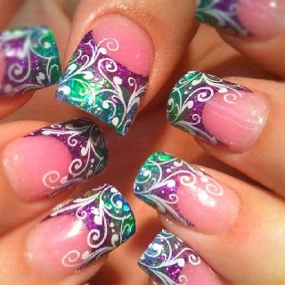nail,finger,nail care,pink,purple,