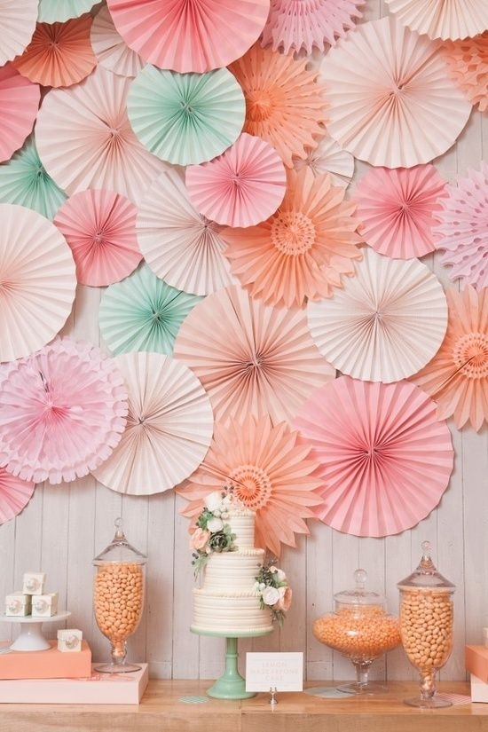 Pastel color scheme 46 eye catching party decorations for your
