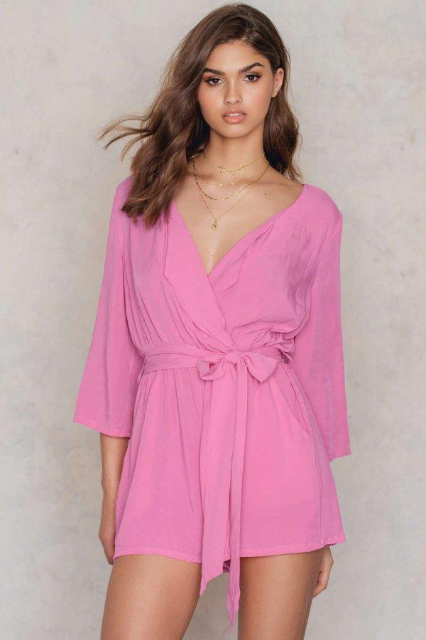 pink, clothing, sleeve, dress, magenta,