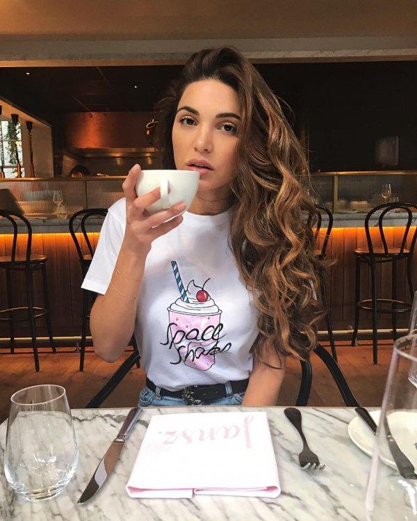 hairstyle, girl, drink, long hair, socialite,