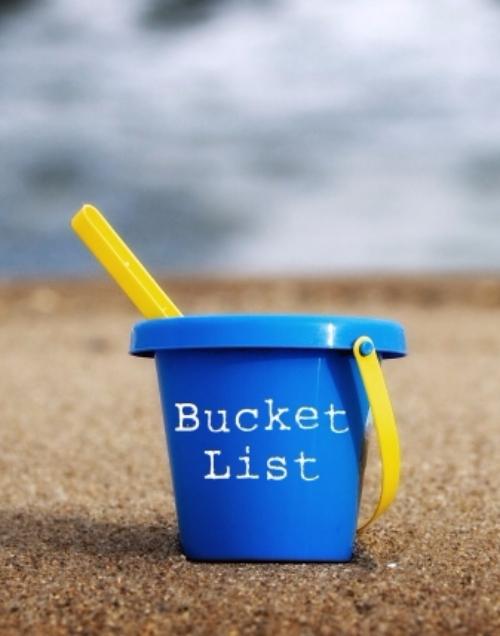 """Make a """"big Things"""" Bucket List"""