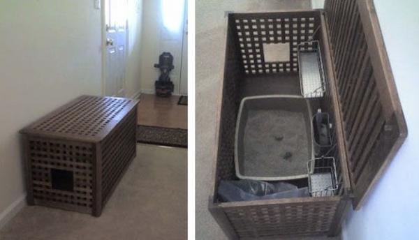 7 Storage Kitty Litter Box 41 Borderline Genius 🎓 Ikea