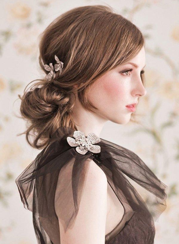 Awe Inspiring 7 Low Maintenance Hairstyles For Summertime Weddings Hairstyles For Women Draintrainus