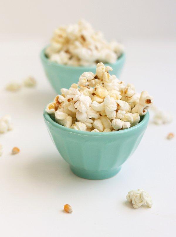 popcorn con il miele