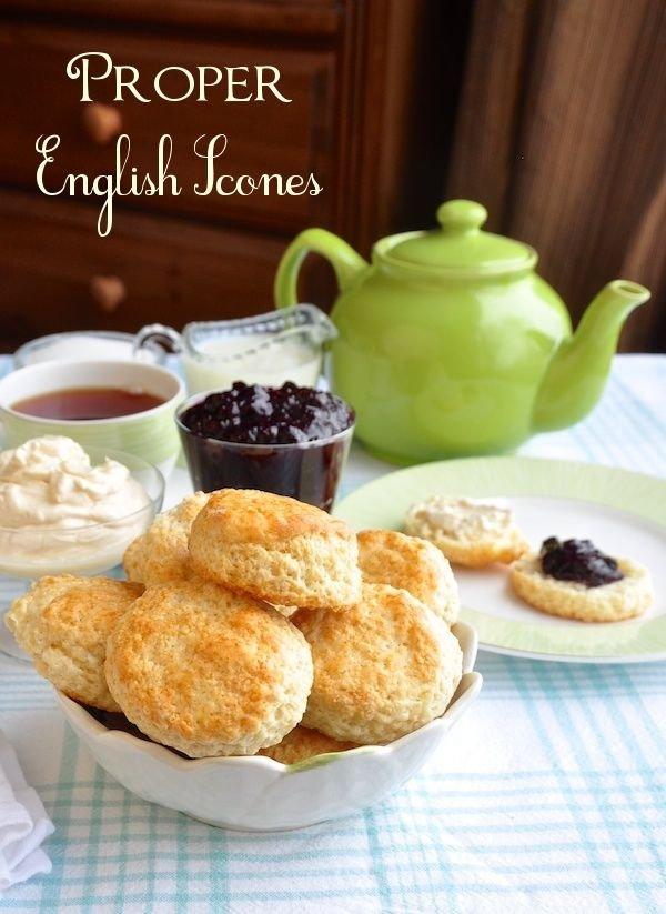 Proper British Scones (Mary Berry Recipe)
