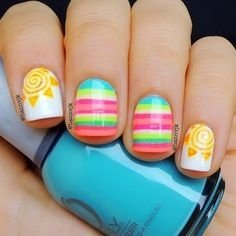 28 super cute ideas for summer nail art  nails