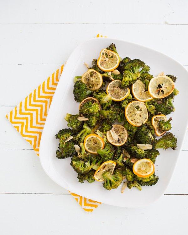 Slice a Lemon over Broccoli