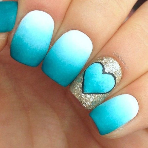 43 Ideas For Ombre Nails That Will