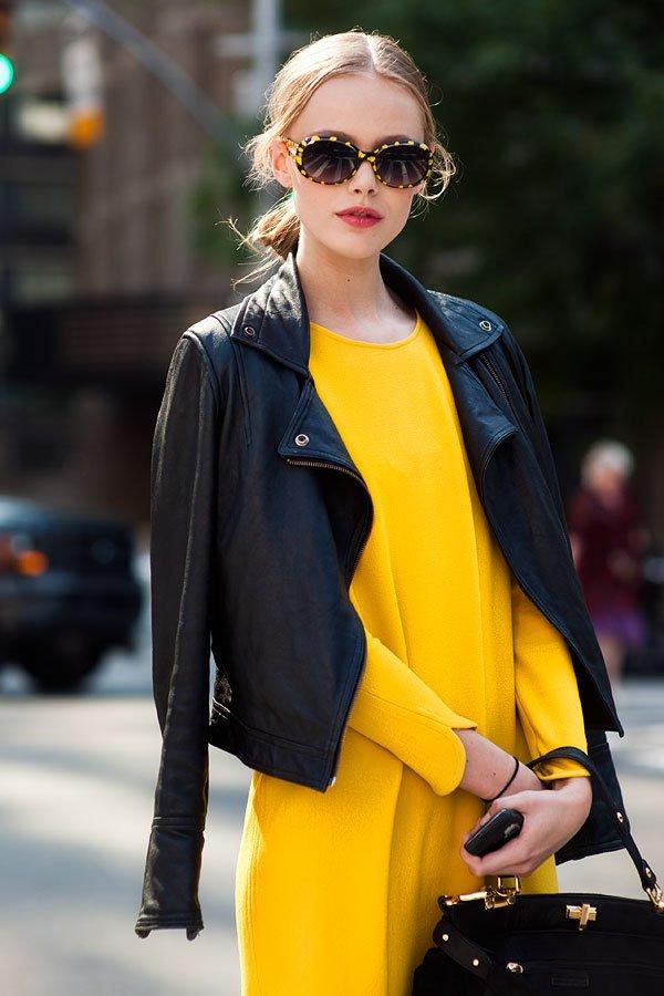 yellow, clothing, jacket, leather, fashion,