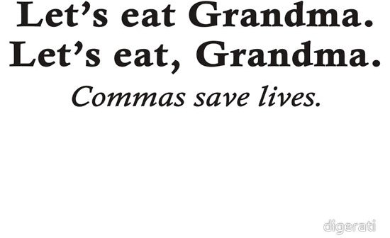 Heroic Commas - 7 Hysterical Quotes for Grammar Nazis ... →