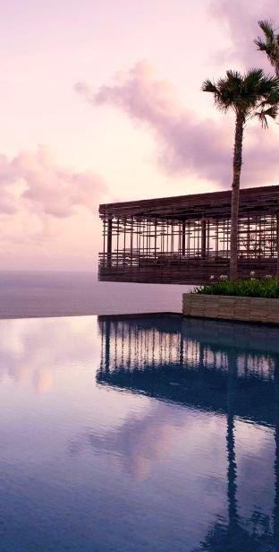 Alila Villas Uluwatu in Bali, Indonesia