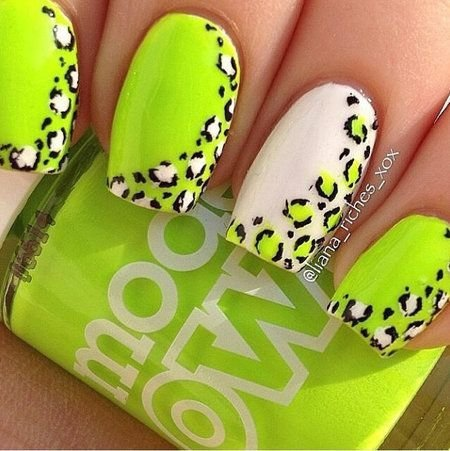 Neon yellow 45 awesome reasons to try neon nail art neon yellow prinsesfo Choice Image