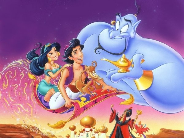 Aladdin (1992),cartoon,screenshot,mythology,illustration,